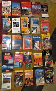 Reiseführer Sammlung 25 Stück USA