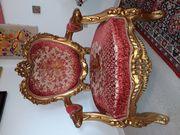 Replika Barock Sessel