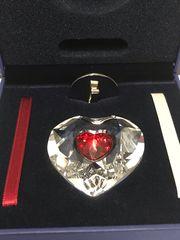 Swarovski Kristall-Herz in Herz