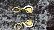 Ohrringe vergoldet