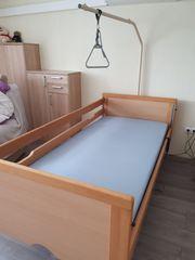 Elektr Pflegebett 1x2m