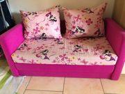 Kindercouch rosa ausziehbar