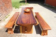 Esstisch Küchentisch Bürotisch aus Massivholz