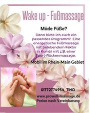 Professionelle Massage im Rhein-Main Gebiet