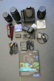 Canon EOS 60D Objektive Zubehör