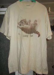 Süßes Long Shirt mit Katze