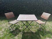 Gartentisch - stühle und - bank