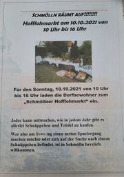 Hofflohmarkt Randowtal- Schmölln 10 10