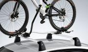 4 Tourenradhalter silber für BMW-Dachträger