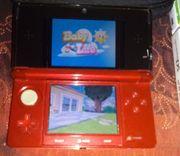 Nintendo 3DS Flammen ROT Konsole