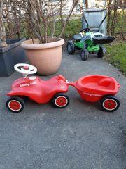 BIG BOBBY CAR rot mit