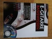 E-Gitarren Basiswissen CD Notenbuch neu