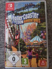 Nintendo Switch RollerCoaster TYCOON ADVENTURES