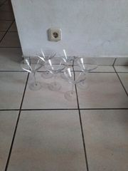 6 Gläser für Eis oder