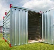 Materialcontainer Lagerraum Länge 2 25m