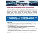 Systemberater IT-Consultant m w d