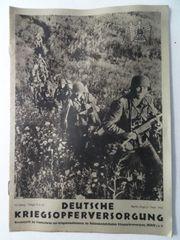 Deutsche Kriegsopferversorgung August Sept 1942