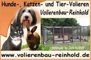 Volierenbau-Reinhold Gehege Käfig Box Stall