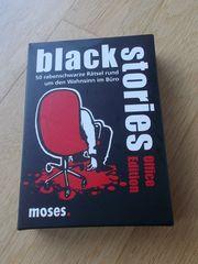 Kartenspiel für Erwachsene Black Stories -