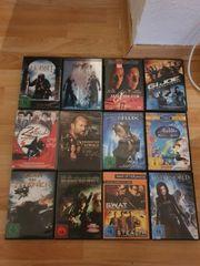 DVD und Blu ray Filme