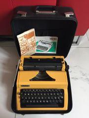 Schreibmaschine Kofferschreibmaschine ERIKA Top