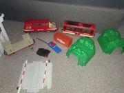 Playmobil Eisenbahn mit Zügen und