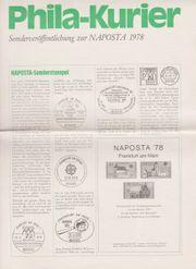 Phila-Kurier zur NAPOSTA 1978 in