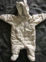 H M Baby Schneeanzug Gr