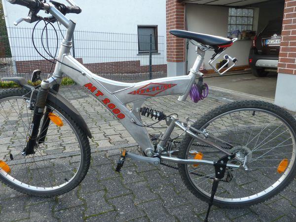 Mountainbike 26 Alu und Edelstahl