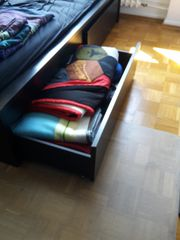 2 IKEA Malm Schublade schwarz