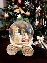 Schneekugel Disney Cinderella Kutsche