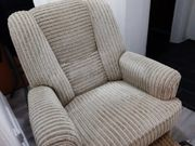 Relaxsessel Fernsehsessel Sessel Stoffbezug mechanisch