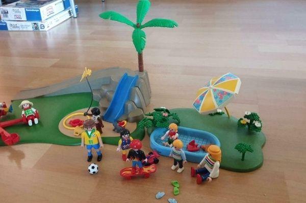 Playmobil Pool Spielplatz