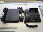 Komfortelefon mit Anrufbeantworter u Telefonanlage