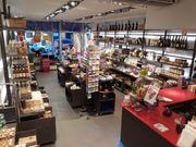 Hochwertige modulare Ladeneinrichtung komplett