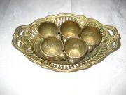Eierbecher Messing Küken Eierhalter Eierständer