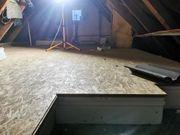 Dachbodendämmung Verbundelement aus Styropor mit