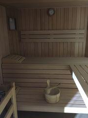 Sauna Infrarotkabine und Dampfbad