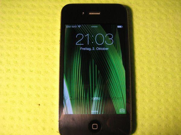iPhone 4 - 16 GB inkl