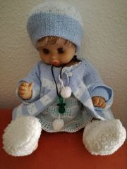 Puppe individuell gekleidet mit Schlafaugen