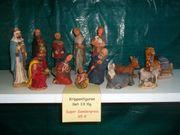 Krippenfiguren Set 13tlg aus Gips