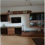 Schrankwand Wohnzimmerschrank inkl Tisch Wohnzimmertisch
