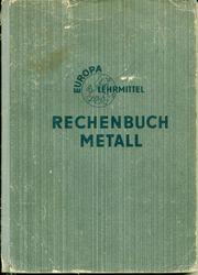 Rechenbuch Metall Europa Lehrmittel 18