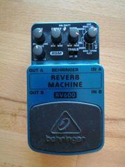 Gitarreneffekt Reverb Machine