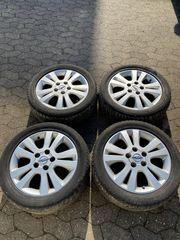 Opel Alufelgen Sommerreifen Astra G