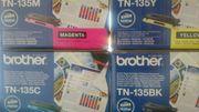 Brother TN135 Original 4 Toner-Kartuschen