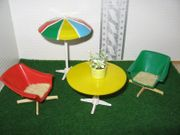 Vero-Balkonmöbel Puppenstube-Puppenhaus-Puppenmöbel-Puppenküche