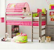Kinderbett Flexa Mittelhoch 90 200