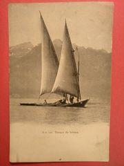 AK historisch Barque du Leman