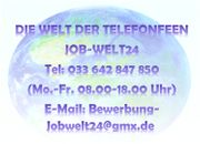 Telefonistin Job Heimarbeit Homeoffice Telefonjob